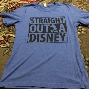 Bella Canvas Straight Outta Disney T-Shirt